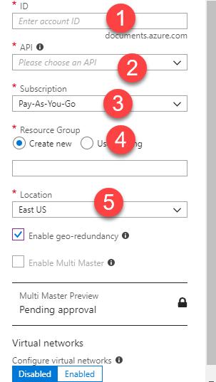 Azure Cosmos DB MongoDB API Setup – daxmax